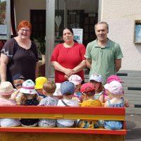 Ausflug in die Gambacher Eisdiele mit dem Minikindergarten