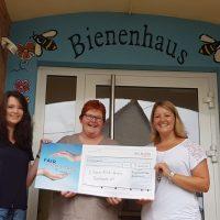 Spendenübergabe von 5.000€ von der ING-DiBa